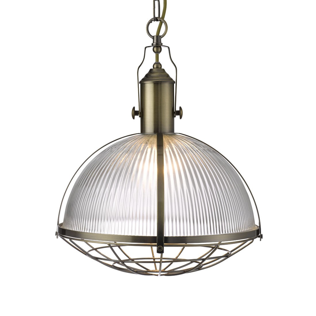 SATIN SILVER PENDANT LIGHT WITH OPAL GLASS SHADE 1172