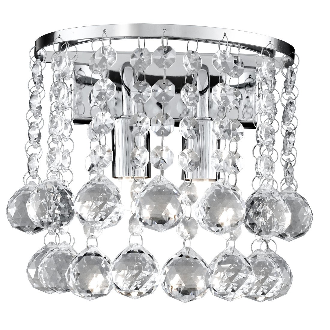 Round Crystal Wall Lights : Crystal wall lights Product categories Stanways Stoves and Lights