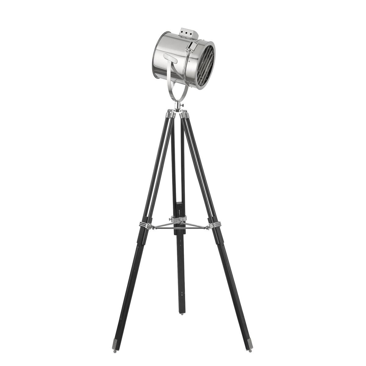 Stage light chrome floor lamp with stylish shade 5015 stanways stage light chrome floor lamp with stylish shade 5015 stanways stoves and lights mozeypictures Choice Image