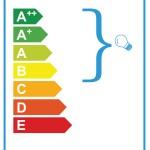 TYPE 6 energy label 100 x 50mm