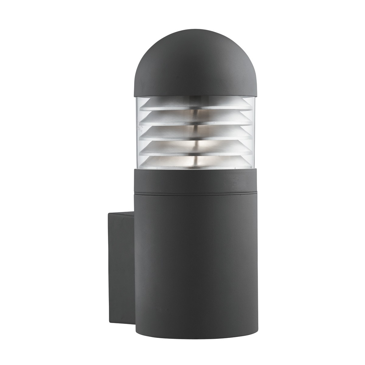 IP44 OUTDOOR WALL LIGHT WITH POLYCARBONATE DIFFUSER 7899BK Loading