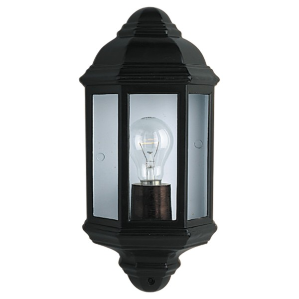 SEARCHLIGHT 8204SS BOX SINGLE LED OUTDOOR WALL LIGHT STAINLESS STEEL//GLASS